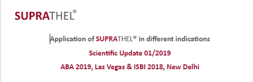 Suprathel : update scientifique suite à ABA 2019 et ISBI 2018