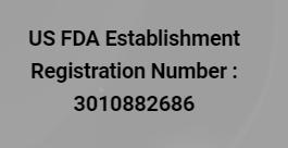 registration number